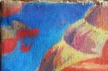 """В.Кнышевский""""Парашютисты"""", х.м.60*123см,1982г, фото №6"""