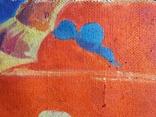 """В.Кнышевский""""Парашютисты"""", х.м.60*123см,1982г, фото №7"""
