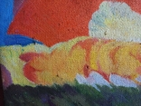 """В.Кнышевский""""Парашютисты"""", х.м.60*123см,1982г, фото №8"""