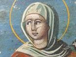 Икона. Св.Екатерина, Св.Мч.Ирина, Св.Муч.Наталия., фото №6