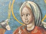 Икона. Св.Екатерина, Св.Мч.Ирина, Св.Муч.Наталия., фото №7