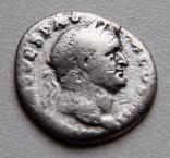 Денарий Веспасиана,, фото №2