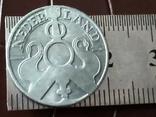 2 1/2 цента 1942  року Нідерланди / точна копія рідкісної -цинк, фото №3