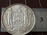 2 1/2 цента 1903  року Північне Борнео / точна копія рідкісної, фото №2