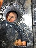 Икона в серебрянном окладе, фото №6
