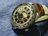 Часы Молния 3602 Мировое Время Рабочие на ремешке, фото №4