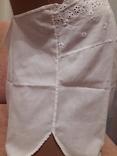 Короткая сорочка кружево вышивка хлопок, фото №5