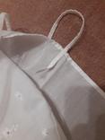 Короткая сорочка кружево вышивка хлопок, фото №8