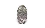 Кам'яний метеорит NWA, із сертифікатом автентичності, вставка для ювелірної прикраси, фото №6