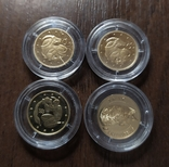 2 гривны.Золото.4 шт., фото №2