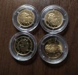 2 гривны.Золото.4 шт., фото №3