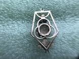 Подвеска серебро 875 пробы, фото №4