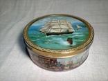 "Коробка жестяная печенье ""Tall Ships""Jacobsens Bakery Ltd. Denmark, фото №2"