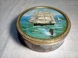 "Коробка жестяная печенье ""Tall Ships""Jacobsens Bakery Ltd. Denmark, фото №13"