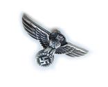 III REICH имперский орел, птица, курица, рукоятки кинжала SS, SA, СА, СС серебро. Копия., фото №6