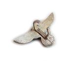 III REICH имперский орел, птица, курица, рукоятки кинжала SS, SA, СА, СС серебро. Копия., фото №8