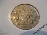 Германия Мекленбург-Шверин 1 шиллинг 1771 г  В холдере, фото №2
