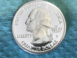 25 центов сша 2003 г. Серебро, фото №3