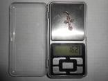 Крестик нательный Серебро 925 Вес - 1,62 грамм, фото №7
