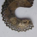 Два венца к иконам, серебро., фото №9