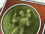 Старая икона с эмалью, фото №3