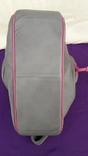 Сіра шкіряна сумка, фото №8