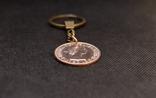 Брелок з монетки 1 Penny 1967 року, фото №5