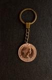 Брелок з монетки 1 Penny 1967 року, фото №6