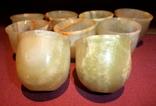 Рюмки - стопки из оникса 9 штук., фото №11