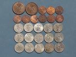 Монеты Дании 26 штук Все разные, фото №3