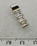 Кулон Серебро 925 Камни, фото №2