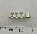 Кулон Серебро 925 Камни, фото №3
