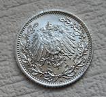 1/2 марки 1917 г. (А) Германия, серебро, фото №12