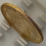 10 гульденов. 1897. Королева Вильгельмина. Нидерланды (золото 900, вес 6,66 г), фото №4