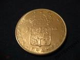 Швеция.1 крона 1971 U, фото №3