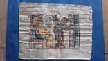 Жанрова сцена на папірусі Єгипет річна робота, фото №2