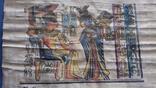 Жанрова сцена на папірусі Єгипет річна робота, фото №5