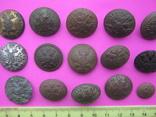 Колекція царських пуговиць з різними написами, фото №6