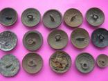 Колекція царських пуговиць з різними написами, фото №10