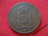 Швеция 5 эре 1898 г, фото №3