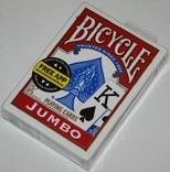 """Игральные карты """"Bicycle Jumbo"""" 2013 г. (полная колода,54+2 листа) Cincinnaty.,США"""
