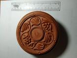 Шкатулка кругла (пластик), фото №3
