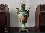 """Керосиновая лампа """"Египет"""" Королевская фарфоровая мануфактура в Берлине., фото №2"""