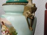 """Керосиновая лампа """"Египет"""" Королевская фарфоровая мануфактура в Берлине., фото №5"""