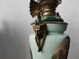 """Керосиновая лампа """"Египет"""" Королевская фарфоровая мануфактура в Берлине., фото №8"""