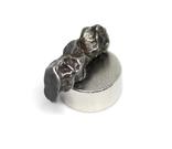 Залізний метеорит Campo del Cielo, 1,2 грам, із сертифікатом автентичності, фото №10