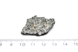 Фрагмент фульгурита, 1,9 грам, з сертифікатом автентичності, фото №4
