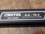 Металлоискатель Rutus Alter 71 с катушкой DD 28 см. Новый, фото №5