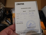 Металлоискатель Rutus Alter 71 с катушкой DD 28 см. Новый, фото №6