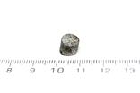 Заготовка-вставка з метеорита Seymchan, 2,3 г, із сертифікатом автентичності, фото №4